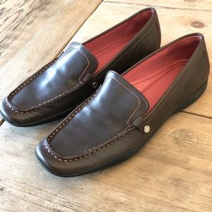 Coach Daisy brown loafers wmns 8 NARROW